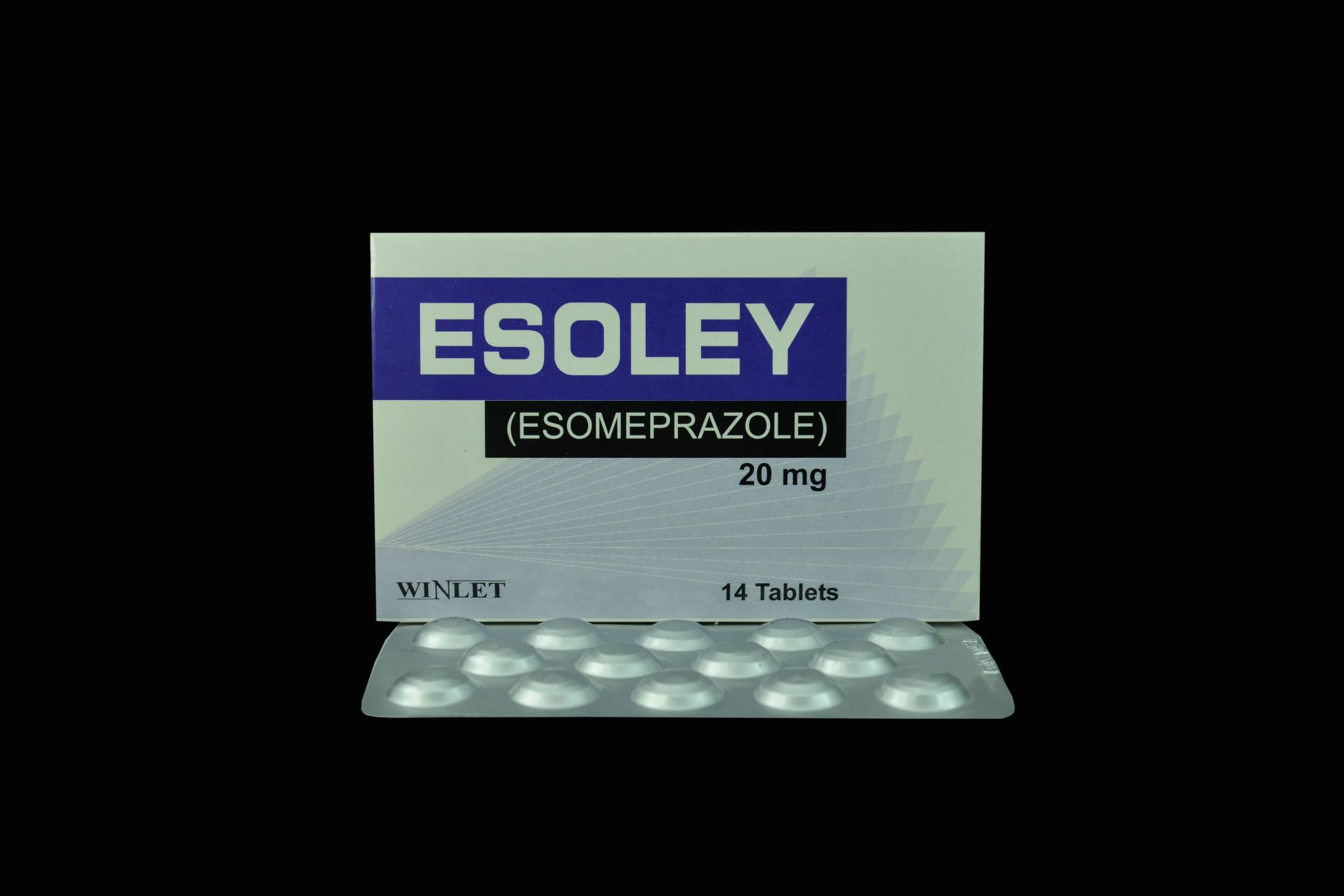 esoley tab 20mg winlet pharmaceuticals